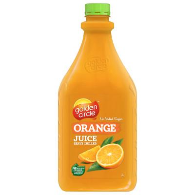 GOLDEN CIRCLE FRUIT JUICE 2lt Long Life Orange