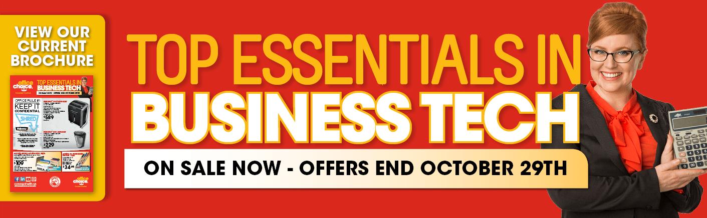 Top Essentials in Business Tech