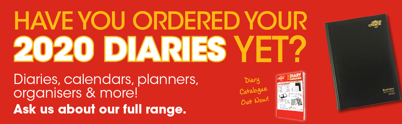 2020 Diaries are here